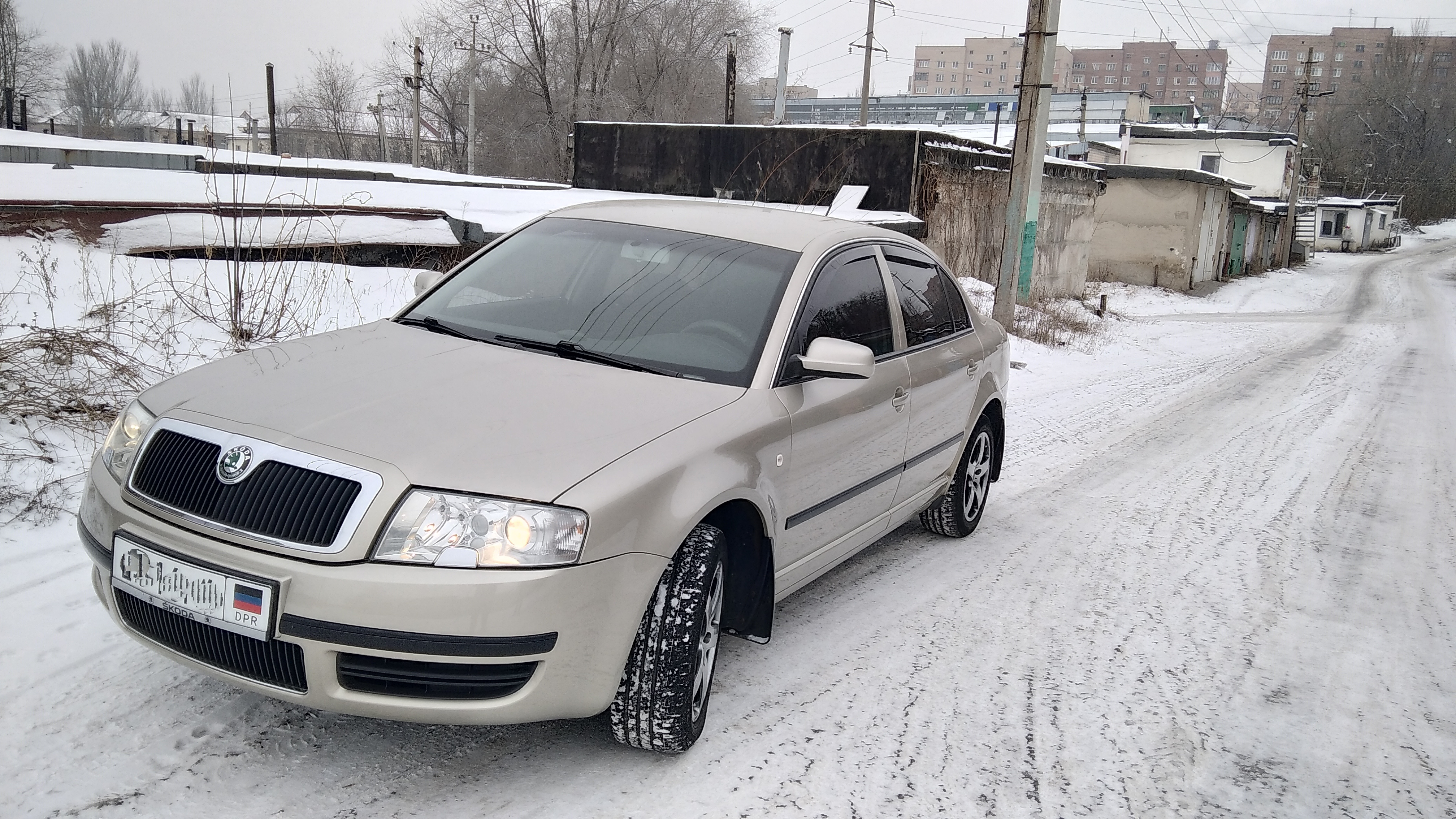 Skoda Superb I 1.8 AT (150 л.с.)