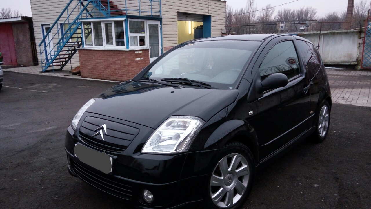 Citroen C2 1.4 AT/MT (75 л.с.)
