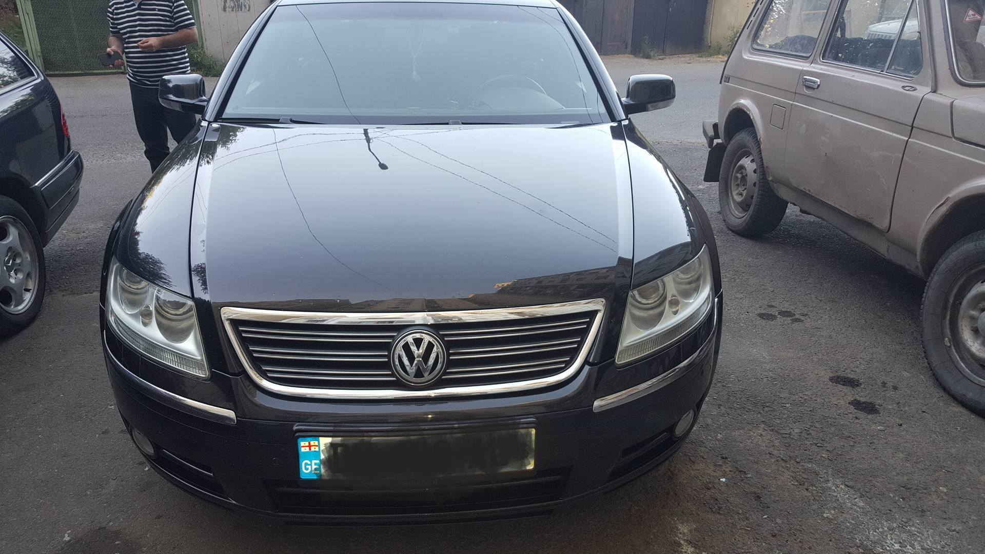Volkswagen Phaeton I 3.0d AT (240 л.с.) 4WD