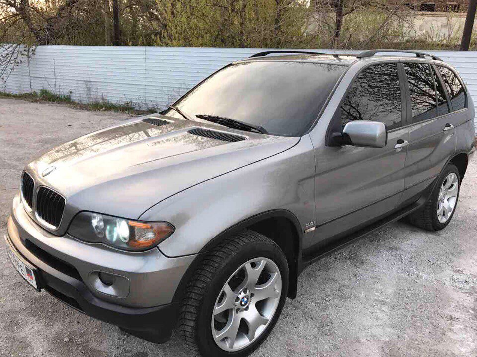 BMW X5 I (E53) 3.0 AT/MT (231 л.с.) 4WD