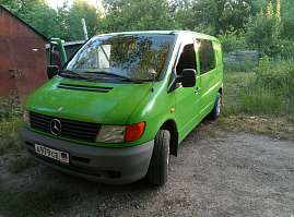 Mercedes-Benz V-classe 2.3d AT/MT (98 л.с.) 230