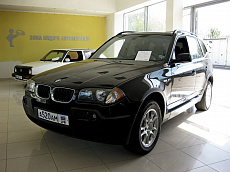 BMW X3 I (E83) 2.5 AT/MT (192 л.с.) 4WD 25i