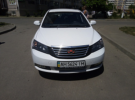 Geely Emgrand EC7 Седан 1.8 MT (126 л.с.)