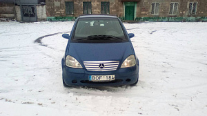 Mercedes-Benz A-klasse I (W168) 1.4 AT/MT (82 л.с.) 140