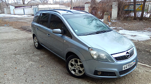 Opel Zafira B 1.9d AT/MT (150 л.с.)