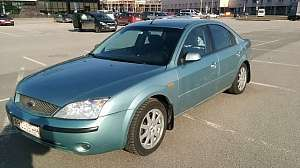 Ford Mondeo III Седан 1.8 MT (125 л.с.)