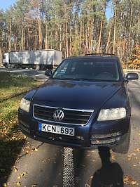 Volkswagen Touareg I 2.5d AT/MT (174 л.с.) 4WD